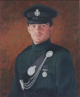 Portrait of an Officer SOLD